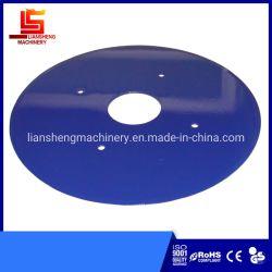 Les lames de disque de la plaque d'avion Double-Edged couteau ronde plate des lames de disque de roue de l'équilibre de la charrue