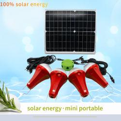 25W太陽軽い太陽ホーム照明5200mAh携帯用ホーム太陽エネルギーシステム