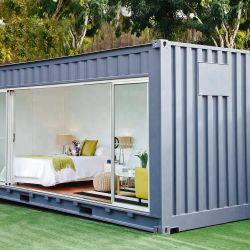 移動可能な輸送箱Home/40のフィートの贅沢なプレハブの家か移動式容器の家