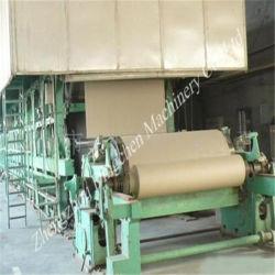 2016 Venta caliente 2100mm de los residuos de envases de cartón Pulping 25 toneladas diarias de la artesanía de papel corrugado/camisa de fabricación de máquinas