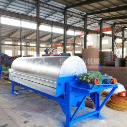 Minera China separador magnético, el tambor de separación magnética tipo