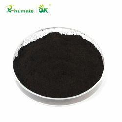 X-Humate Leonardite polvo negro natural orgánico fertilizante ácido húmico