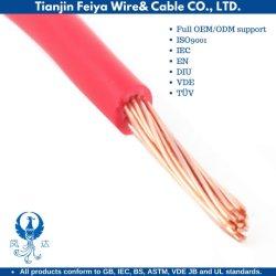 Draad van het Huis van de Kern van de Kabel van de Fabrikant BV/Bvr van Tianjin gebruikte de Enige Harde de Elektrische het Verwarmen Kabel van de Draad