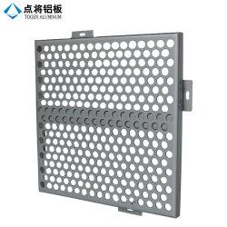 Metal perfurado de alumínio personalizado do projeto para a decoração da parede