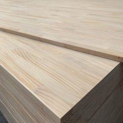 Pinho/Red Oak/Placa conjunta do dedo de madeira de Borracha