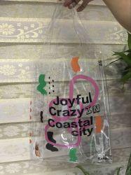 Tamaño grande de plástico de PVC de señoras bolso de compras/Playa bolsa impermeable de gran capacidad