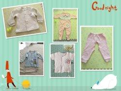 Wondersuits Spielanzug-neugeborenes Baby-Bodysuit-Baumwollbaby-Spielanzug-Set