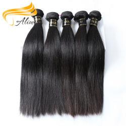 Согласиться с Paypal Aaaaa дешевого сырья 100% бразильского Virgin волос
