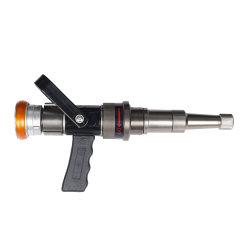 Регулируемый расход алюминия Fire водяной шланг с сопла с пистолетной рукояткой для тушения пожара