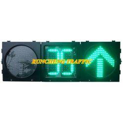 Интеллектуальный светодиодный индикатор сигнала дорожного движения с таймером обратного отсчета