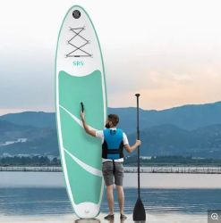 De aangepaste Opblaasbare Sup Tribune van de Surfplank van de Peddel op Peddel voor het Surfen