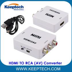 DVDビデオデッキのためのAVのコンバーターへのRCA 1080P HDMIへの熱い販売小型HDMI
