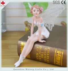 卸し売り庭の小型装飾 Fairy の置物の樹脂の技術