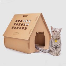 Caso vuoto dell'animale domestico di Corflute Twinwall Plastic/PP per il cane e la casella di gatto