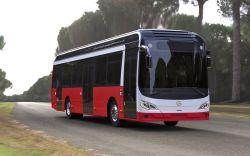 Syp Sh6120 50 시트 100 전송자 짐 미터 전자 도시 버스 디젤, CNG 연료는 선택적이다
