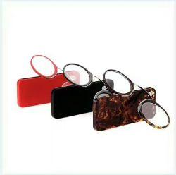 Facilement Prendre des lunettes de lecture de cas de mémoire en plastique