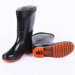O design exclusivo de OEM do calçado de borracha unissexo Botas de chuva