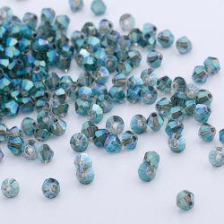 La meilleure qualité de gros de perles de verre en cristal toupie