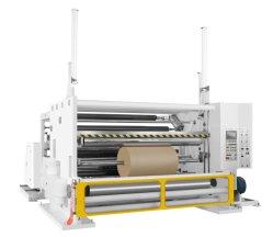Máquina rebobinadora cortadora longitudinal de papel Jumbo para embarcaciones de papel térmico de papel Papel Papel de la sublimación de canaleta