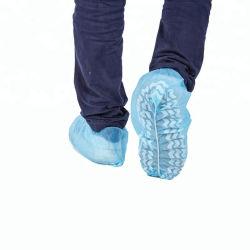 Azul descartáveis Shoecover PVC/Leveza PE+CPE Sapata cirúrgica abrange