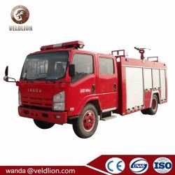 Le Japon châssis 5000 litres Réservoir d'eau camion de lutte contre les incendies