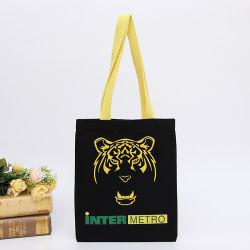 Белый розничная торговля одеждой складные пользовательских печатных брелоки рекламные экологически безопасные многоразовые хлопчатобумажной ткани Canvas магазины сумок и логотипы