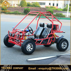 De Zetels van Trumki 150cc/200cc 2 Met gas gaan Karts