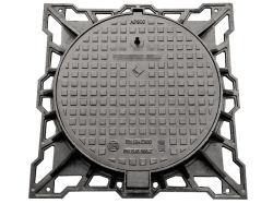 Coperchio di botola duttile del ferro di En124 F900 per la sosta dell'aria