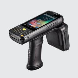 Lecteur RFID PDA avec 2,WiFi de la bande 1 GHz de Qualcomm CPU,lecteur RFID LF/HF,1D/2D scanner de code à barres,NFC, IP65,d'empreintes digitales biométriques TCS2ss,ISO7816 protocole mhps