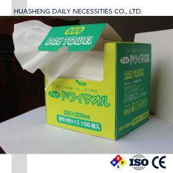 Les mouchoirs de papier bon marché & serviette humide, essuyez-le tissu des lingettes pour bébé