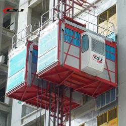 販売のための80mの高さ2ton Sc200/200の構築の上昇のエレベーターの乗客そして物質的な起重機