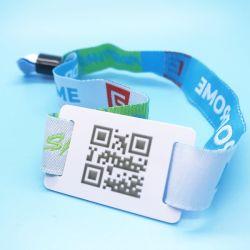 Музыкальный фестиваль QRCODE 13.56Мгц 1K F08 smart Fabric RFID браслет браслет