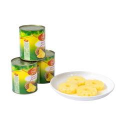 Fette inscatolate dell'ananas/parti di 567g