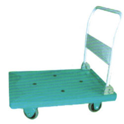 Garten-Hilfsmittel L-Form faltbare Plattform-Stahlkonstruktion-faltende Plattform-Karre der Laufkatze-300kg pp.