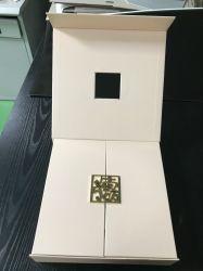 Caixa de dobragem personalizado papel Dom requintados Assista Mooncake Caixa de Embalagem