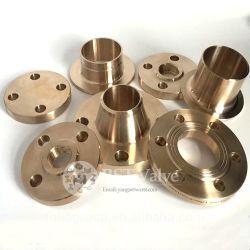Messing Bronze Ff Lashals Met Schroefdraad Rf-Flens