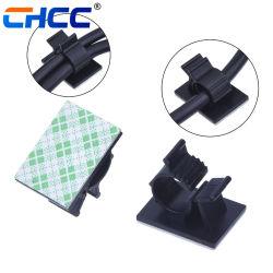 Les colliers de câble en nylon réglable pour voiture, domicile et bureau, noir