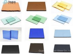 Topo de verre flotté colorés/feuille pour la décoration en verre teinté (S-T)