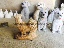 Coq coq Chick Granite Figurine animale pour Pâques Ornmanet de décoration et jardin