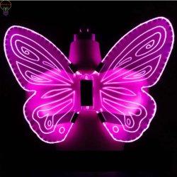 A luz de LED piscando asa de borboleta de fadas brinquedo de roupa