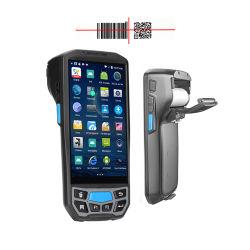 Wireless Handheld Barcode Reading Robuster PDA Mobile Computer mit Drucker