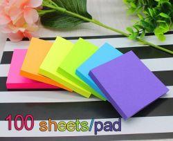 لزجة بطاقات [3إكس3] بوصة لون سابعة كتل [سلف-ستيك] 6 كتل/حزمة 100 صفوف/كتلة مجموعة 600 صفوف