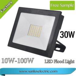 Новая конструкция Мощный светодиодный Прожектор 20W 30Вт, 40 Вт, 50 Вт, 100 Вт для проекции для использования вне помещений светодиодного освещения