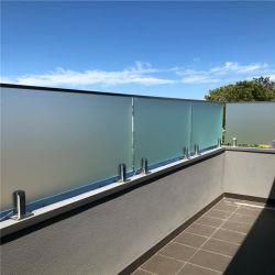 Aluminiumglaspool-Zaun-Zapfen-Balustrade-Zaun-Montierungs-Quadrat u. im Freienplattform-Aluminium