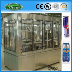 L'animale domestico di alluminio può macchina di riempimento di sigillamento gassata spremuta di inscatolamento della bevanda di energia (GDF24-6)