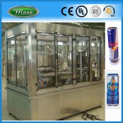 L'animale domestico di alluminio può macchina d'inscatolamento di riempimento di sigillamento di sigillamento gassata spremuta della bevanda di energia (Gdf24-6