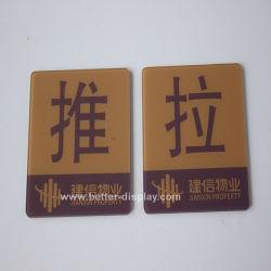 Inserción de acrílico personalizado y abierto firmar Btr-I1009