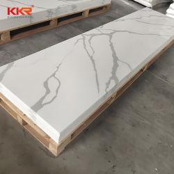 Textura de mármore acrílico Laje de Pedra superfícies Corian bancada de superfície sólida de banho vaidade tops