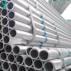 La norme ASTM A106b laminés à chaud tube sans soudure en acier galvanisé
