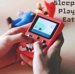2021 Chasedier Byit Hot 400 en el juego de Sup1 Cuadro Retro Mini Handheld videoconsola portátil de 3.0 pulgadas Kids Jugador con 1000mAh Batería TV out
